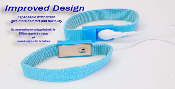 Comfortable electrode wristband